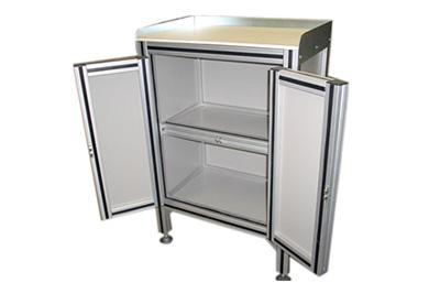 Arm rio em perfil de alum nio el elion - Perfiles de aluminio para armarios ...